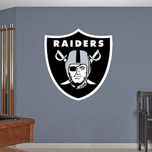 Oakland Raiders Logo Fathead Wall Decal